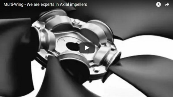Multi-Wing experts en impulseurs Axial